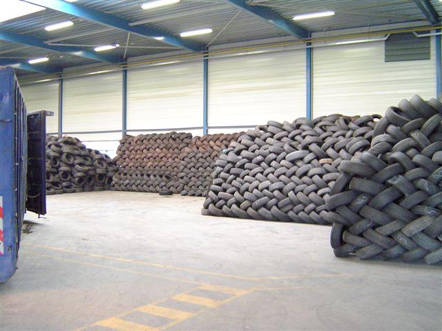 Tweedehands autobanden voor export